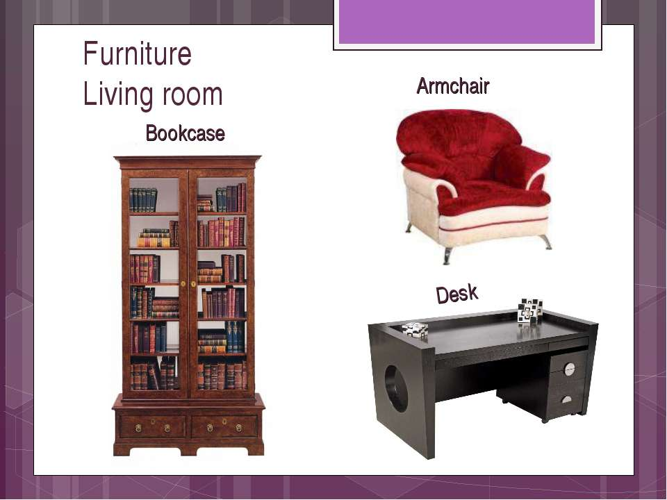 Furniture Living room Armchair Desk Bookcase valivkass - вставить книжный шка...