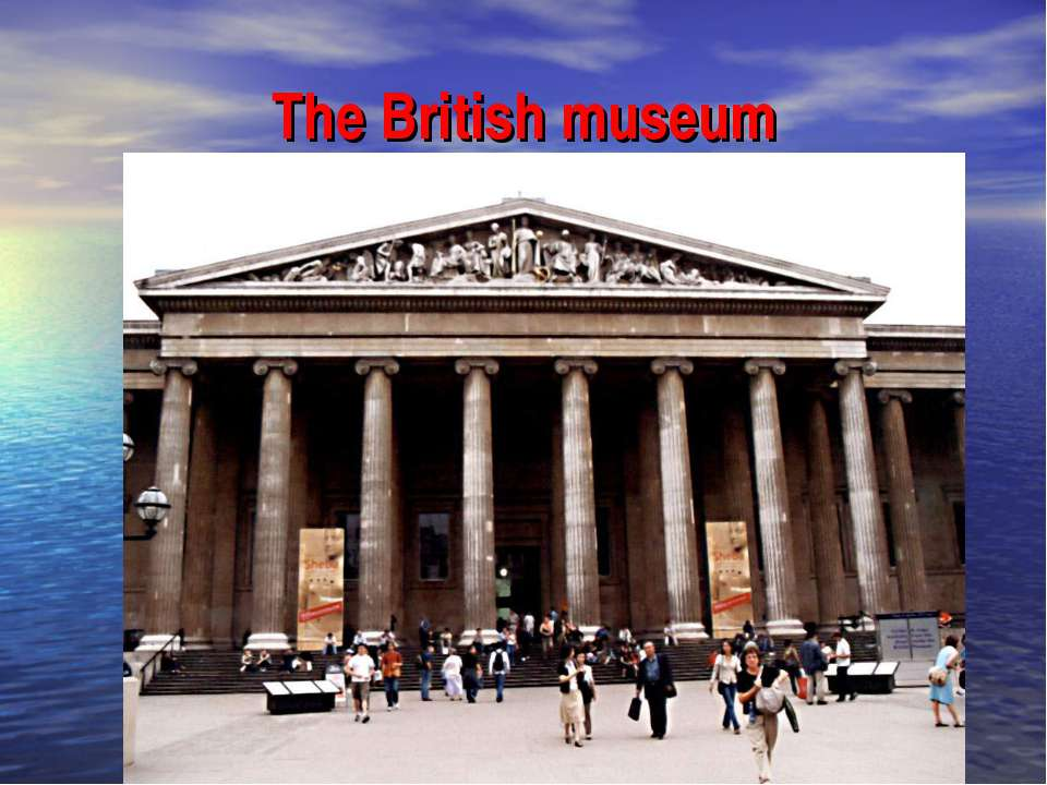 british museums and galleries essay Student sample: compare/contrast essay but also the epicenter of the british empire where it held significant global array of museums that harbor many of.
