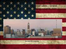 The capital of Michigan – Lansing The largest city - Detroit, other cities - ...
