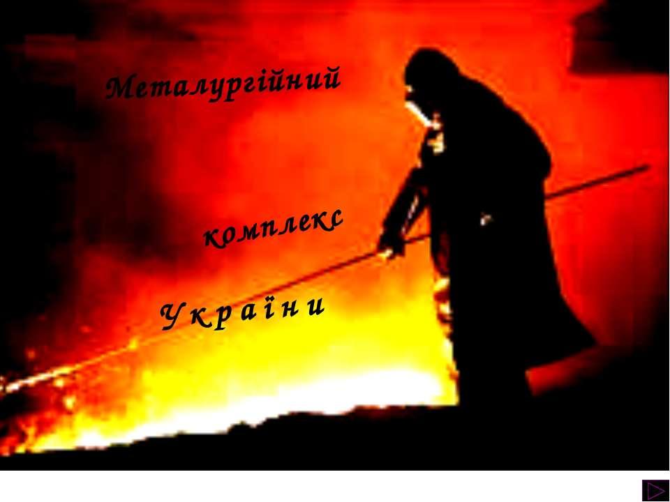 Металургійний комплекс України