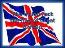 The Union Jack the flag of Great Britain