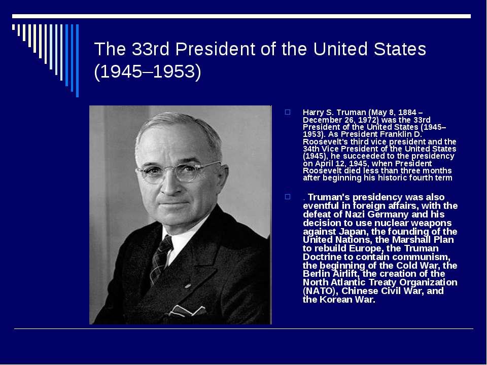 Famous People Of The Usa презентація з англійської мови