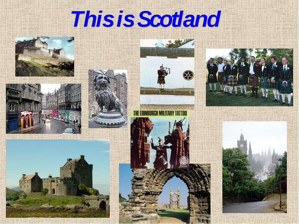 This is Scotland