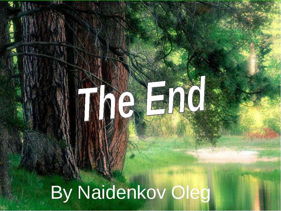 By Naidenkov Oleg