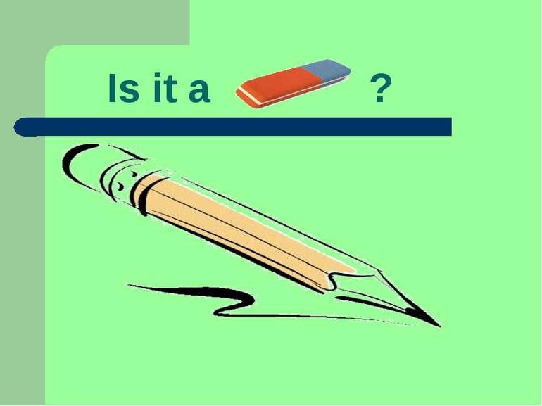 Is it a ?