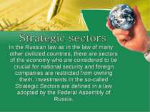 In the Russian law as in the law of many other civilized countries, there are...