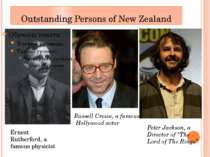 Outstanding Persons of New Zealand Ernest Rutherford, a famous physicist Russ...