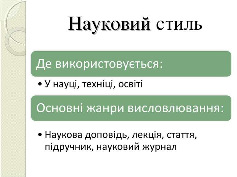 Науковий стиль