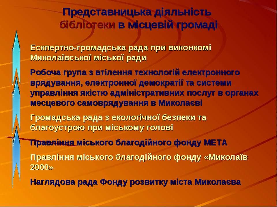Ескпертно-громадська рада при виконкомі Миколаївської міської ради Робоча гру...