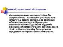Пневмонії, що викликані мікоплазмами Мікоплазми не мають клітинної стінки. За...