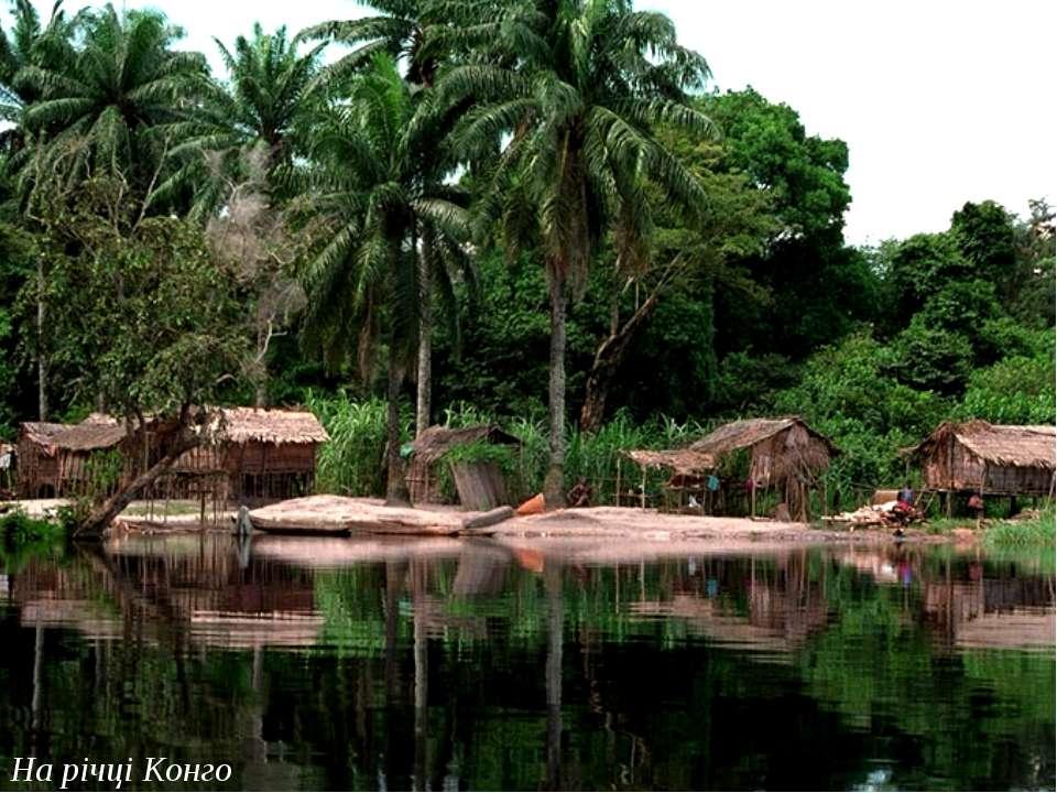 На річці Конго