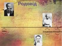 Родовід Варвара Михайло Іван