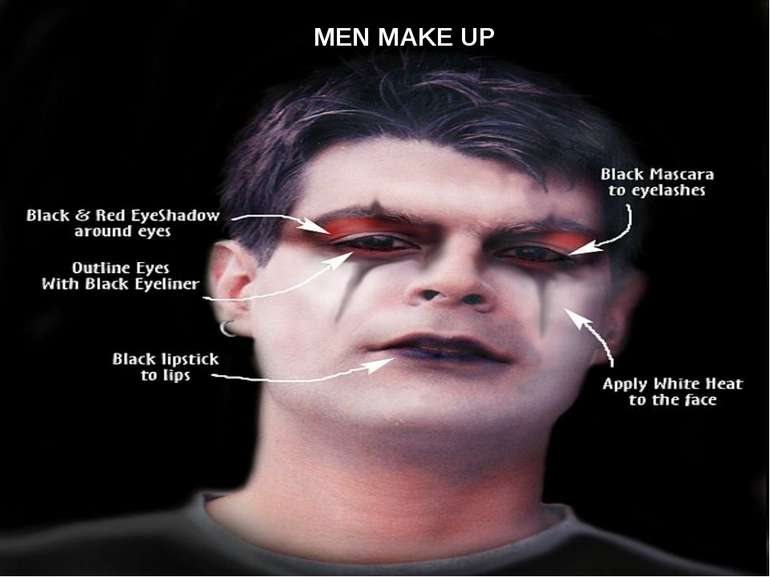 THE MAKE UP MEN MAKE UP