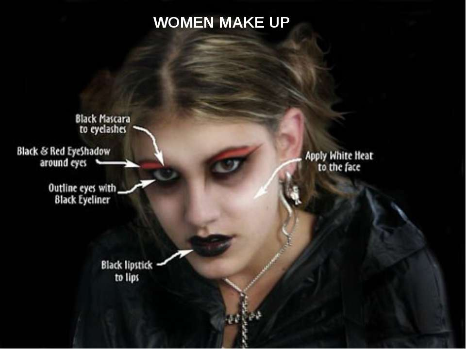 WOMEN MAKE UP