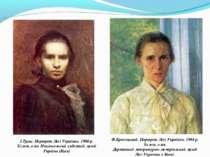І.Труш. Портрет Лесі Українки. 1900 р. Холст, олія. Національний художній муз...