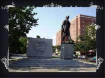Сполучені Штати Америки, Вашингтон пам'ятник Тарасу Григоровичу Шевченку у Ва...