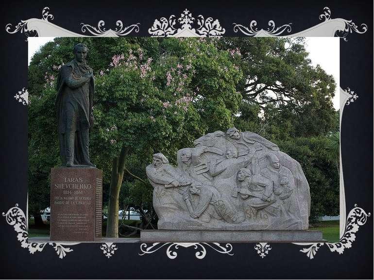 Аргентина, Буенос-Айрес. Пам'ятник Тарасові Шевченку в Буенос-Айресі було від...
