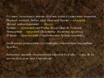 Усі чини іконостаса мають особливі назви й символічне значення. Перший, нижні...