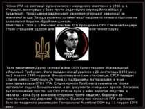 Члени УПА на еміграції відзначилися у народному повстанні в 1956 р. в Угорщин...
