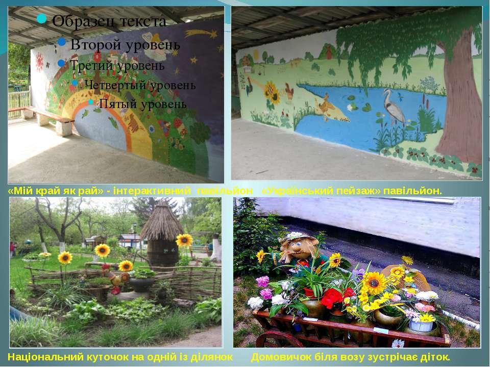 «Мій край як рай» - інтерактивний павільйон «Український пейзаж» павільйон. Н...