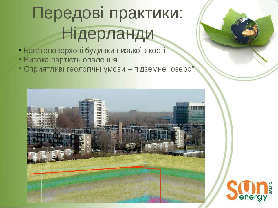 Багатоповерхові будинки низької якості Висока вартість опалення Сприятливі ге...