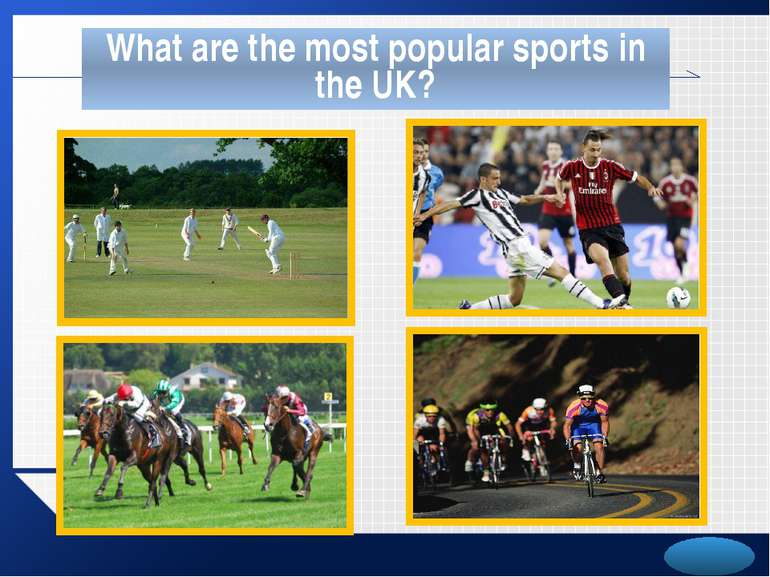 What are the most popular sports in the UK? LOGO
