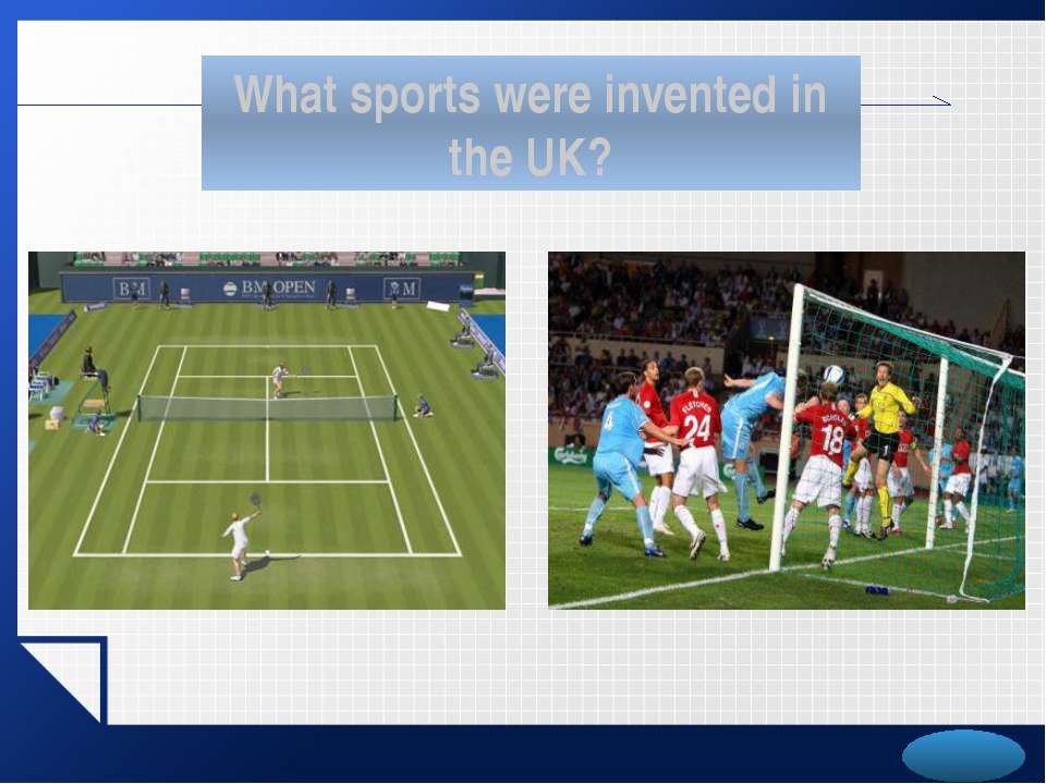What sports were invented in the UK? LOGO
