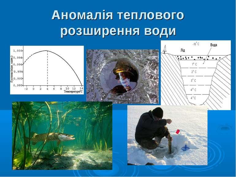 Аномалія теплового розширення води