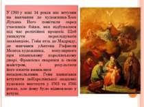 У1760у віці 14 років він вступив на навчання до художникаХосе Лухана Його ...
