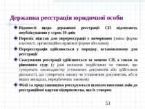 Державна реєстрація юридичної особи Відомості щодо державної реєстрації СП пі...