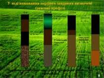 Горизонт А-гумусовий (важкий суглинок) до 20 см Горизонт Аt-техногенний(глина...