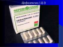 Цефалексин ( Ц I)
