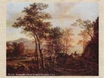Ян Бот. Вечерний пейзаж (вторая четверть 17 в.)