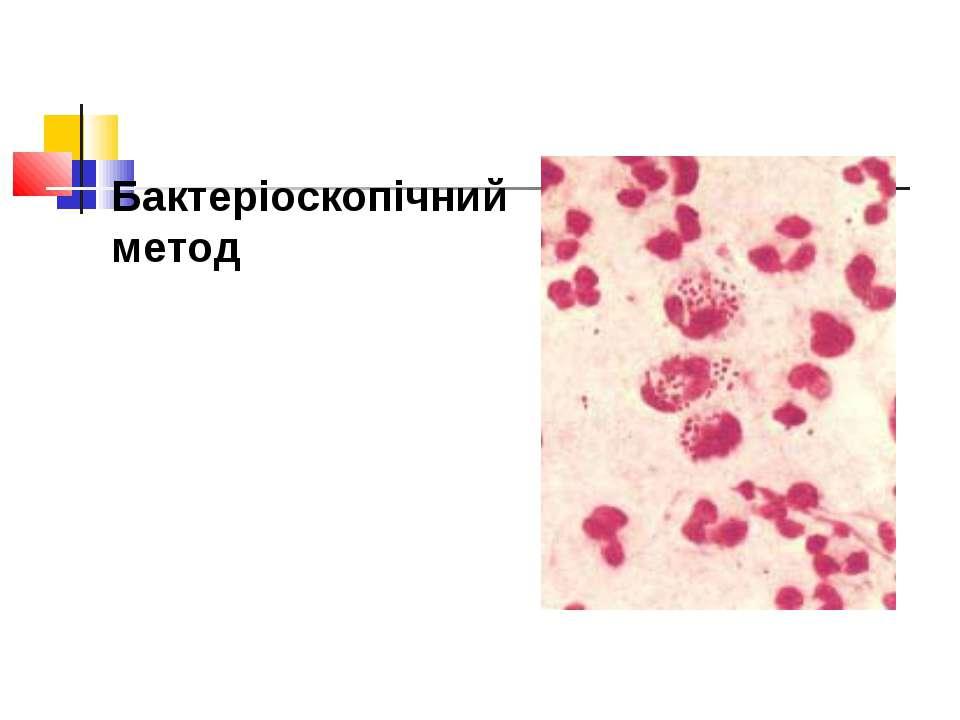 Бактеріоскопічний метод