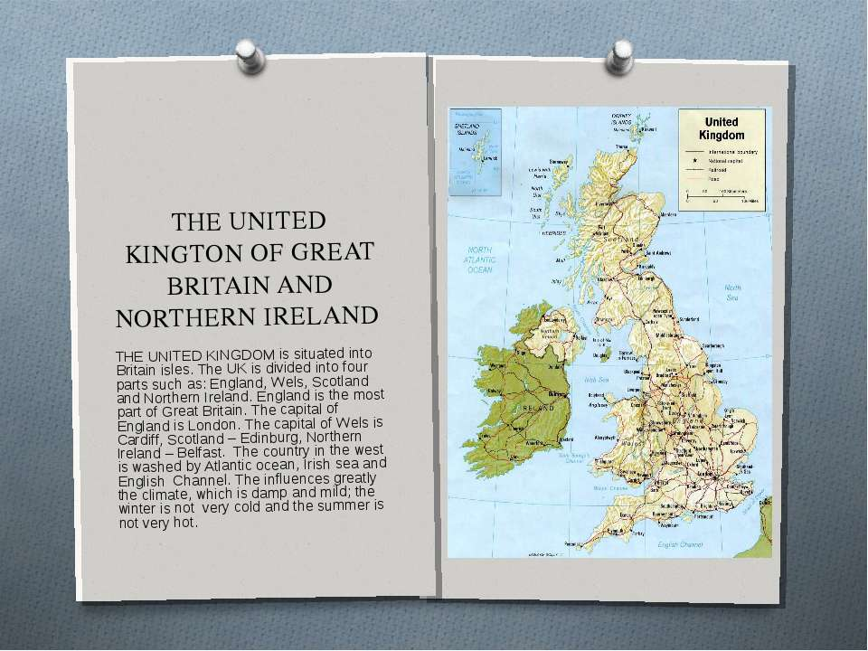 THE UNITED KINGTON OF GREAT BRITAIN AND NORTHERN IRELAND THE UNITED KINGDOM i...