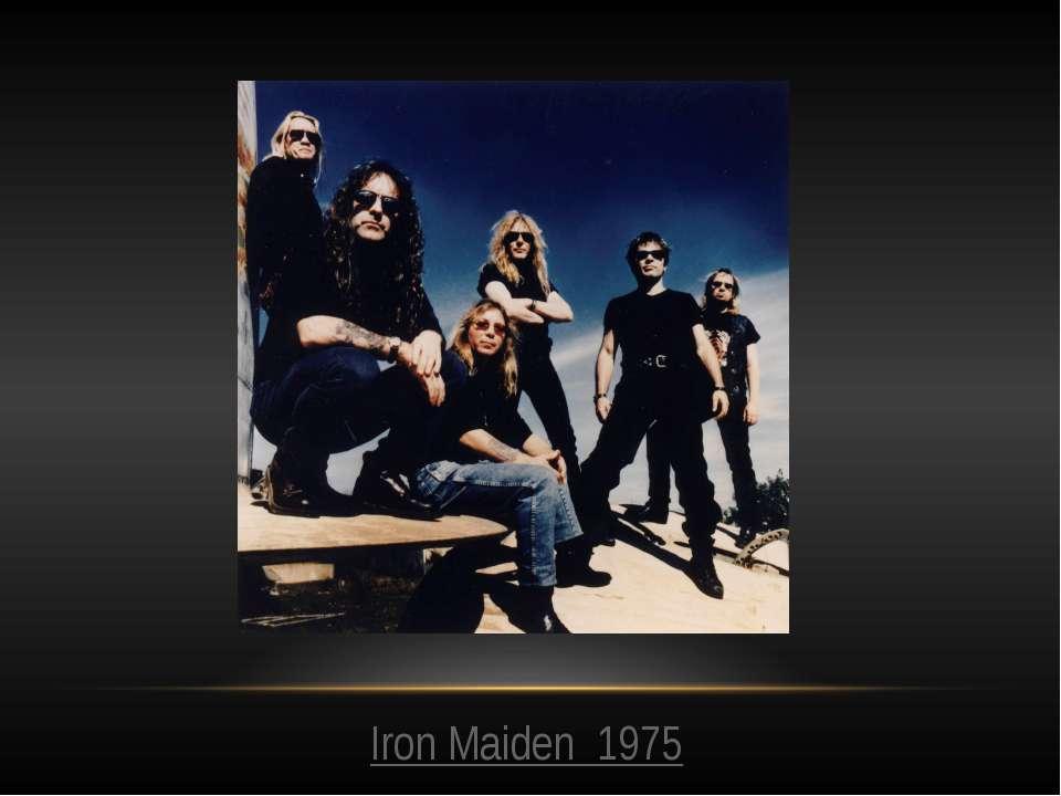 Iron Maiden 1975