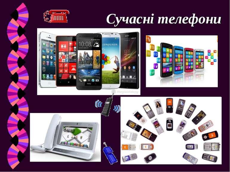 Сучасні телефони
