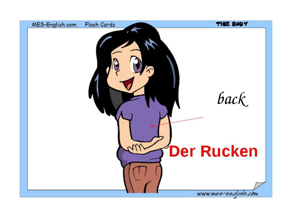 back Der Rucken