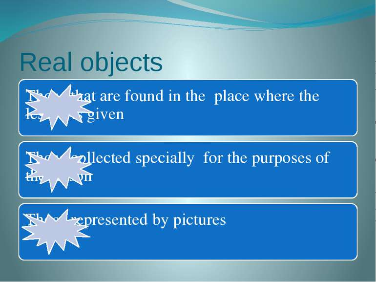 Real objects