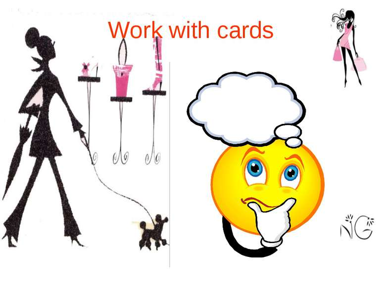 Work with cards