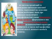 Професійна орієнтація- це система організації та проведення навчально-виховно...