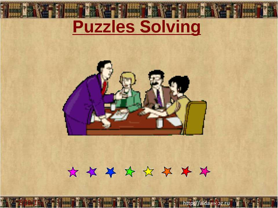Puzzles Solving