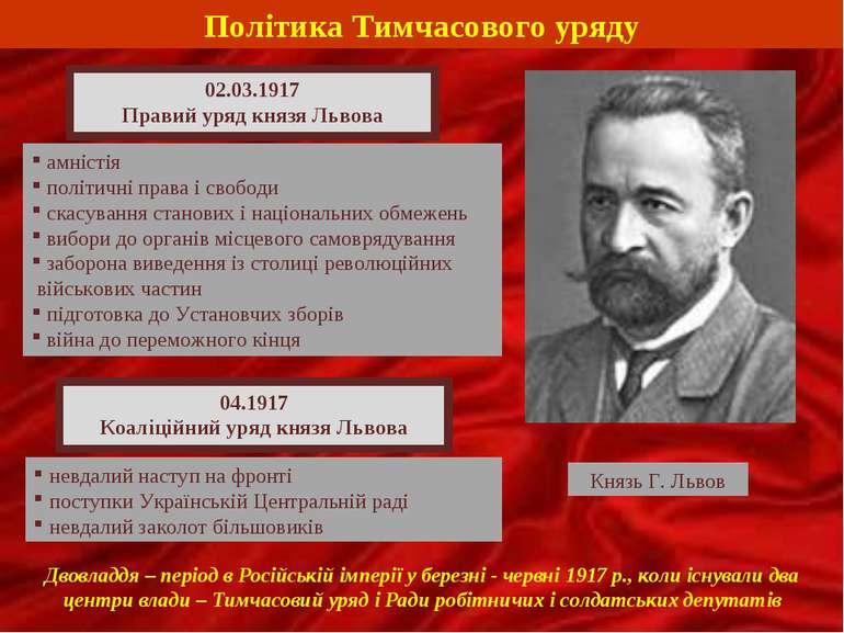Політика Тимчасового уряду амністія політичні права і свободи скасування стан...