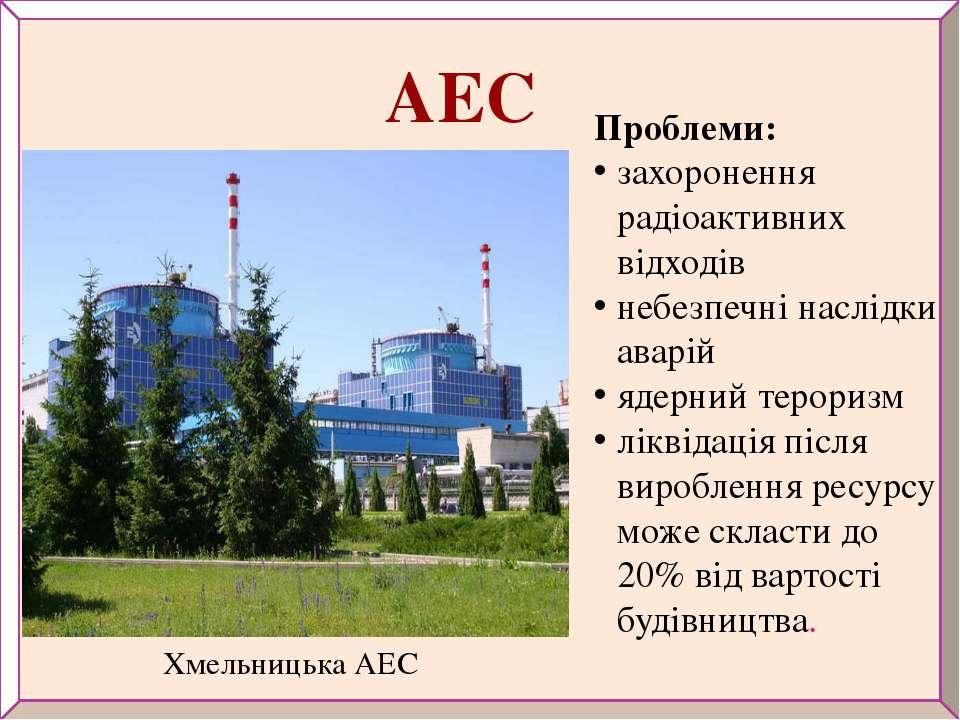 Хмельницька АЕС Проблеми: захоронення радіоактивних відходів небезпечні наслі...