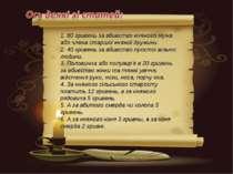 1. 80 гривень за вбивство княжого мужа або члена старшої княжої дружини. 2. 4...