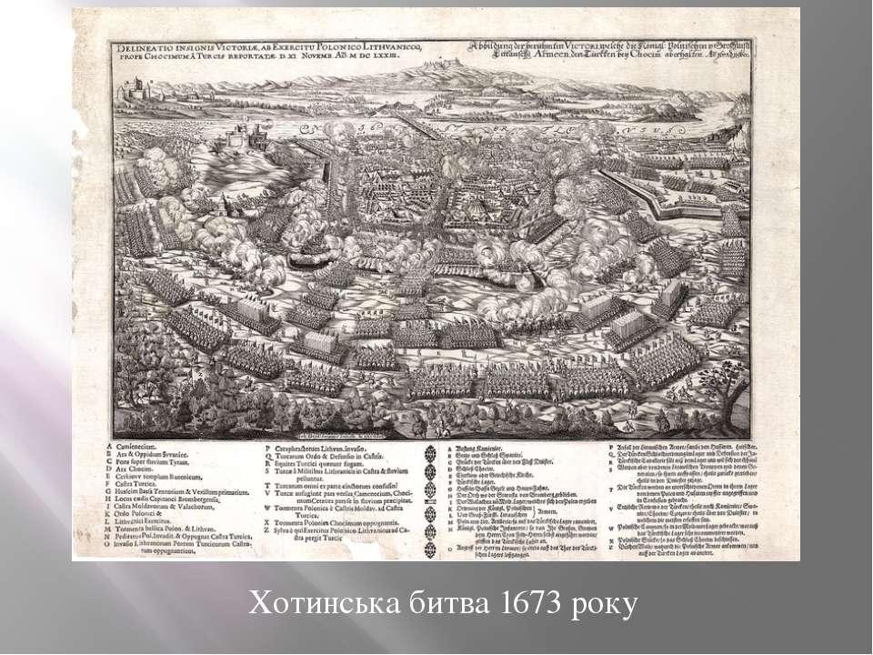 Хотинська битва 1673 року