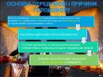 Штучна організація сталінським керівництвом голоду для того, щоб зломити опір...