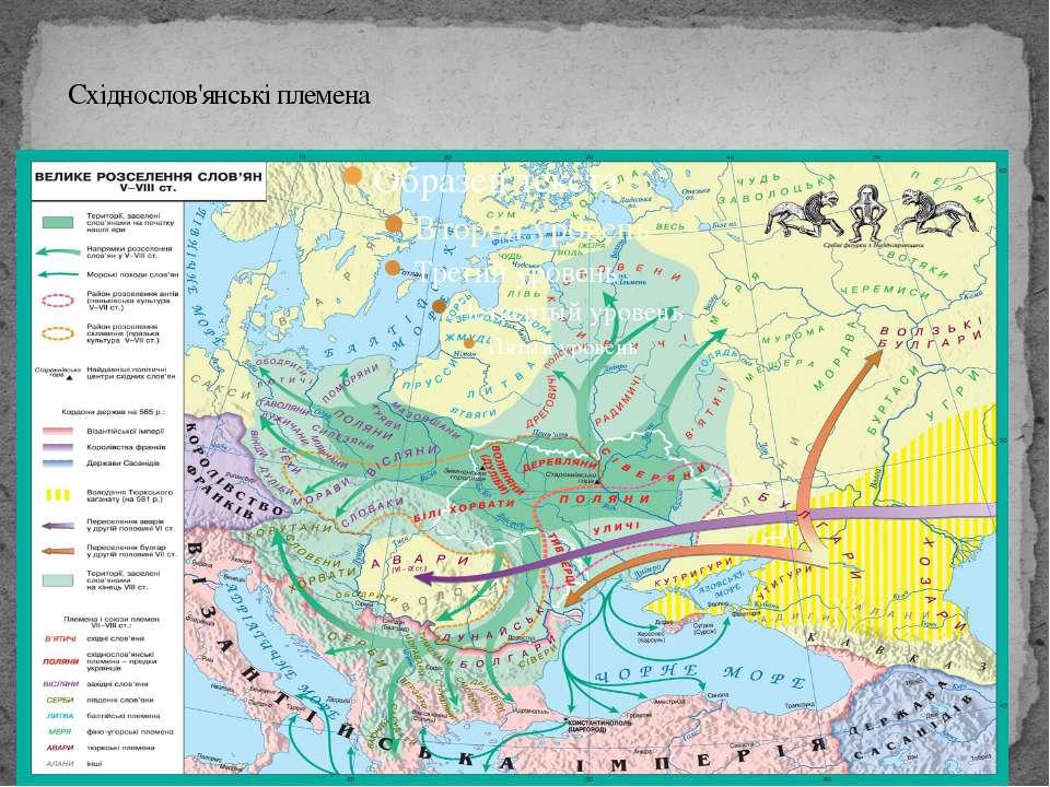 Східнослов'янські племена