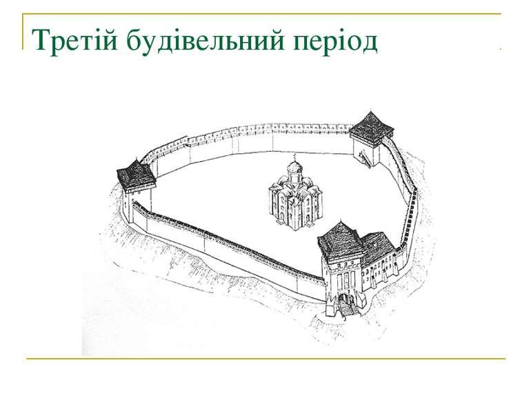 Третій будівельний період