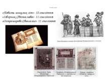 Книжкова мініатюра «Повість минулих літ»- 12 століття «Ізборник Святослава»- ...